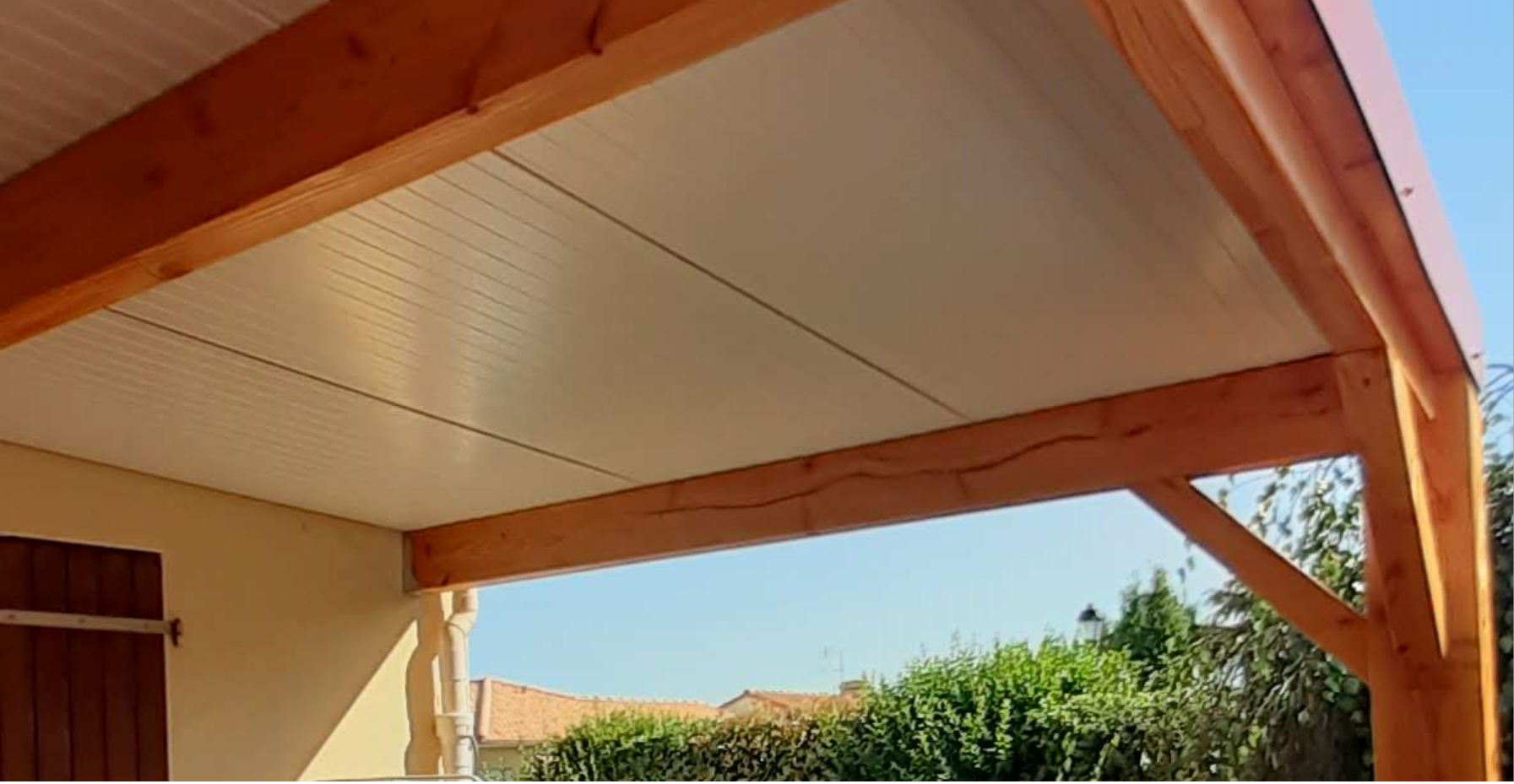 Protection solaire plafond large